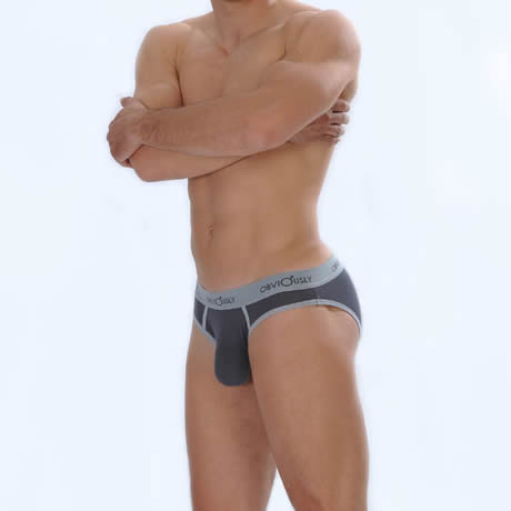 Obviously for Men Retro Brief Low Rise