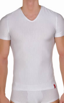 bruno banani Straight Line V Neck Shirt 1063-2205