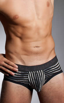 HOM Black Addict Enigma Low Waist Brief UP